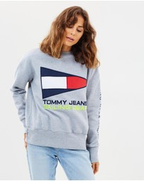 Tommy Jeans - 90s Sailing Logo Crew Sweatshirt
