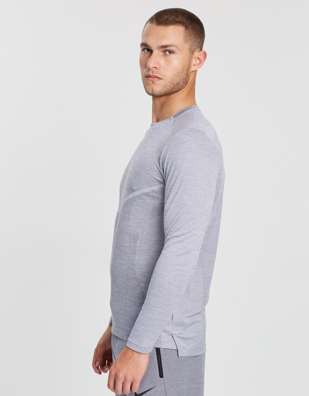 Nike - TechKnit Ultra LS Running Top - Men's