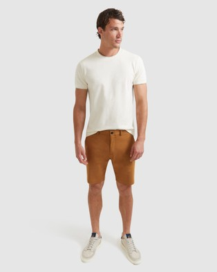 SABA Judd Shorts - Chino Shorts (brown)