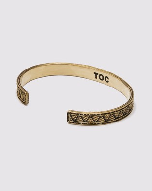 TOC The Weave Cuff - Jewellery (Gold)