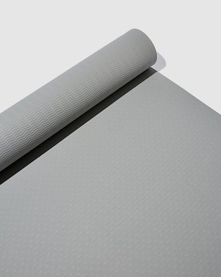 Cotton On Body Active Yoga Mat - Yoga Accessories (Grey)