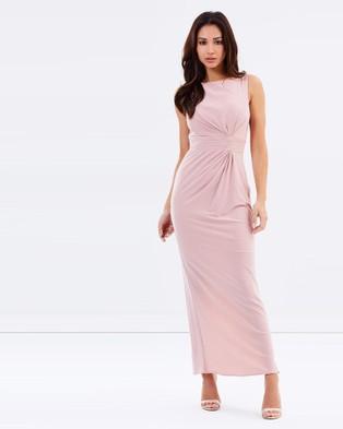 Tinaholy – Jones La Femme – Bridesmaid Dresses (Dusty Pink)