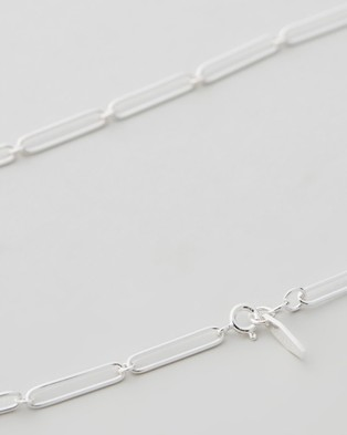 Carly Paiker Calabria Chain Necklace - Jewellery (Silver)