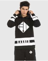 SASHED THE LABEL - Overruled Mens Hoodie