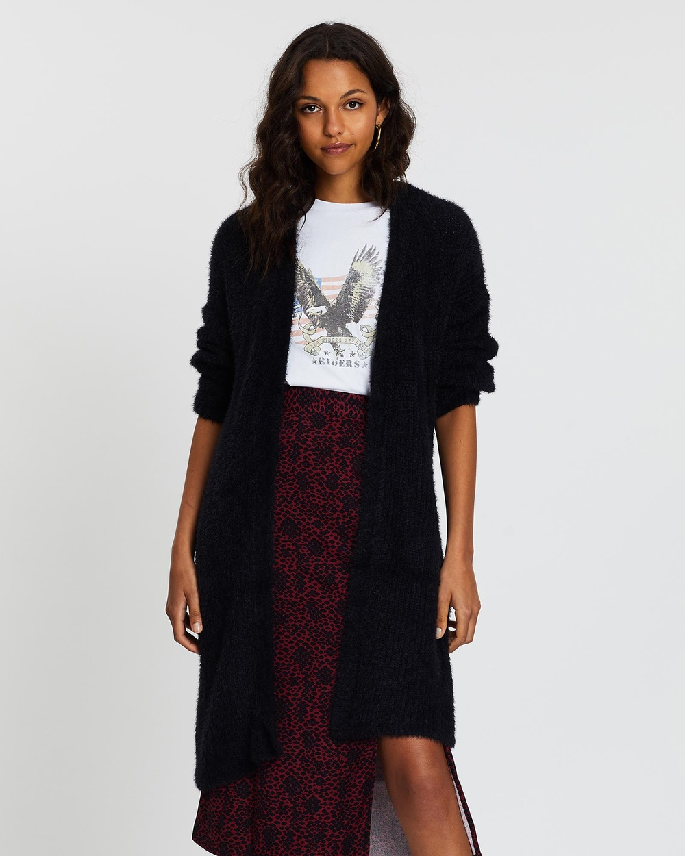 All About Eve Scarlett Cardigan Jumpers & Cardigans BLACK