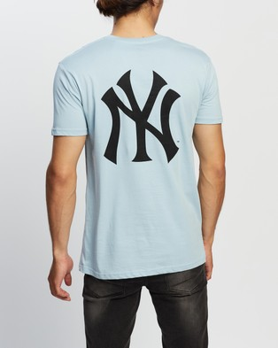 Majestic Jeaner SS Tee - Short Sleeve T-Shirts (Yankees Ice)