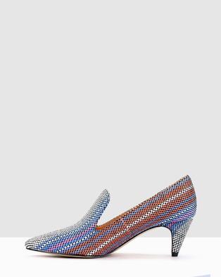 Kennedy Dot - Mid-low heels (Multi)