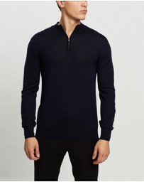 Farage - Fine Merino Zip Sweater