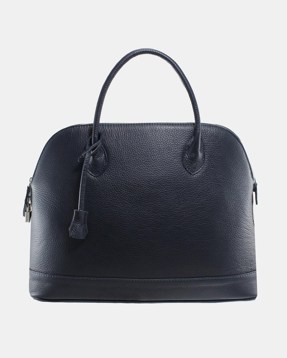 Lux Haide Olivia Tote Handbag Handbags Navy