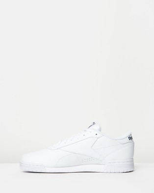 Reebok Exofit Lo   Unisex - Sneakers (White & Royal Blue)