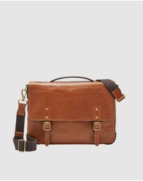 Fossil - Defender Cognac Messenger Bag