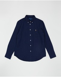 Polo Ralph Lauren - LS Linen-Cotton Shirt - Teens