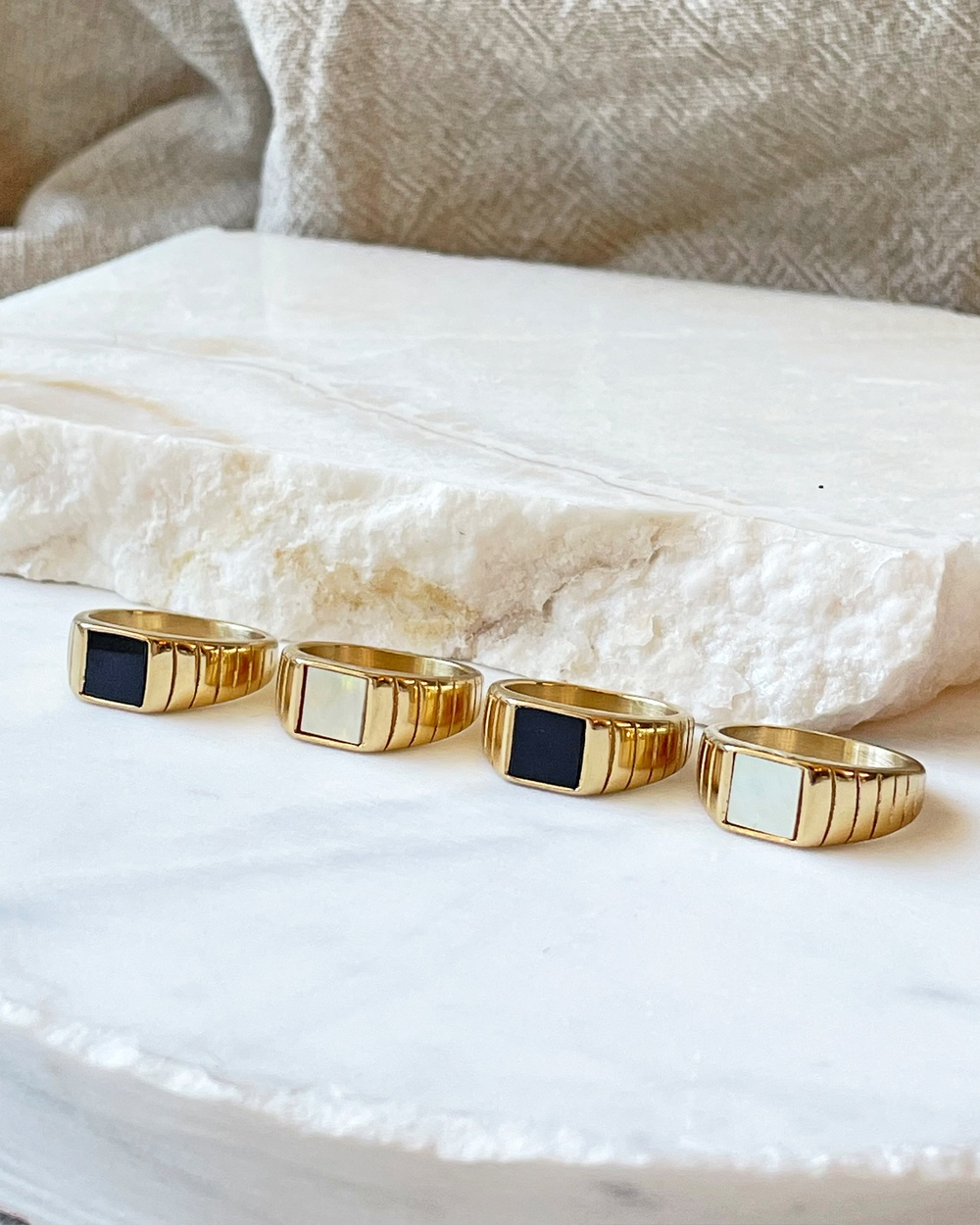 Arms Of Eve Yin Signet Ring Jewellery Gold