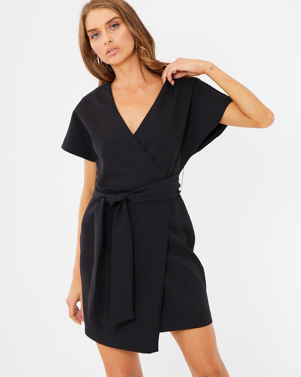 Photo of Tussah Black Octavia Kimono Dress - beautiful dress from Tussah online