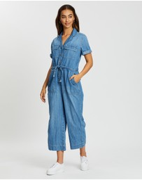 Gap - Short Sleeve Utility Jumpsuit