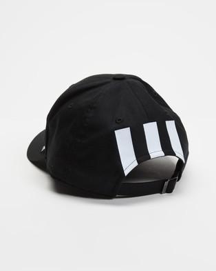 adidas Performance Essentials 3 Stripes Cap - Headwear (Black & White)