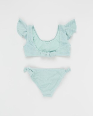 Duskii Aya Frill Bikini Set   Teens - All gift sets (Spearmint)