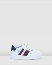 Tommy Hilfiger - Strap Stars Stripe Sneakers Infant