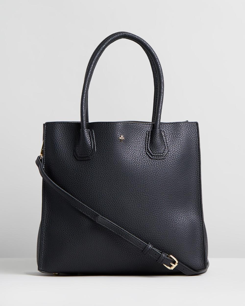 PETA AND JAIN Holly Tote Bag Handbags Black