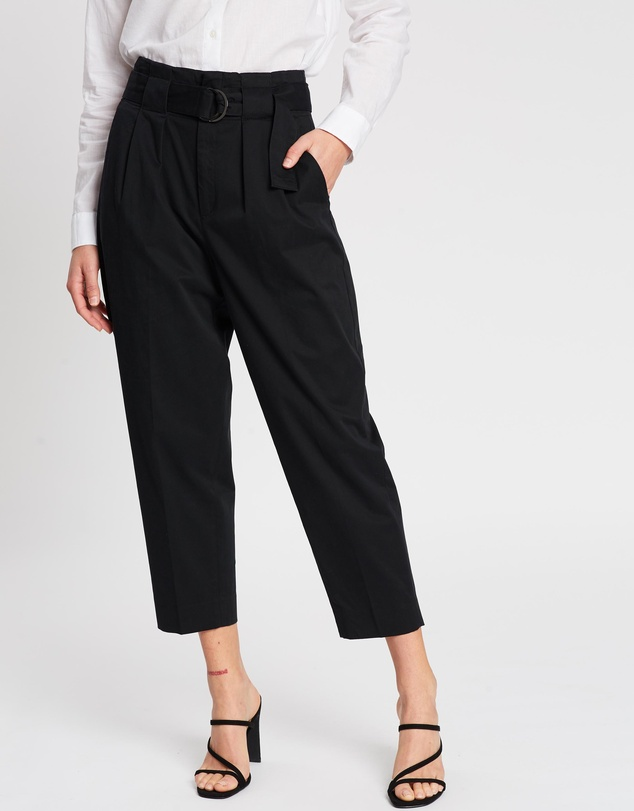 Banana Republic - High-Rise Tapered Pants