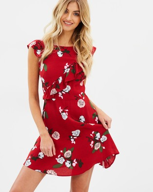 Miss Selfridge – Sheered Bardot Millie Dress