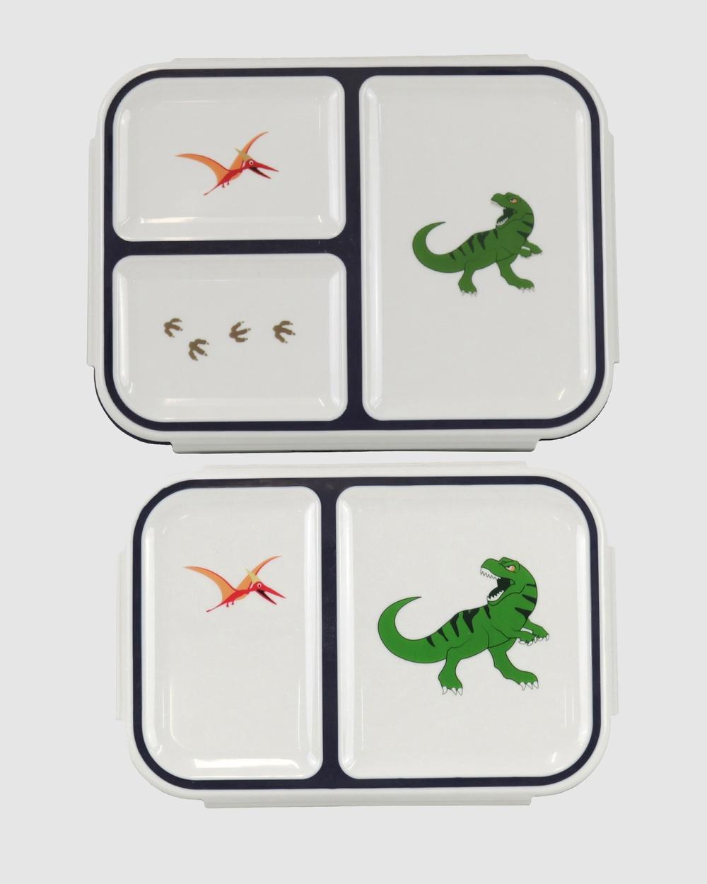 Bobbleart Bento Box Pack Dinosaur Novelty Gifts Navy
