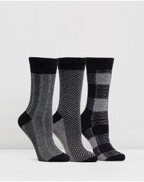 Ben Sherman - Royal Approach 3-Pack Socks