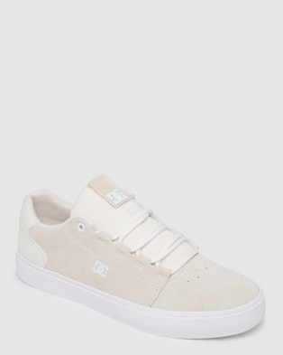 DC Shoes Hyde   Leather Shoes for Men  - Sneakers (White)