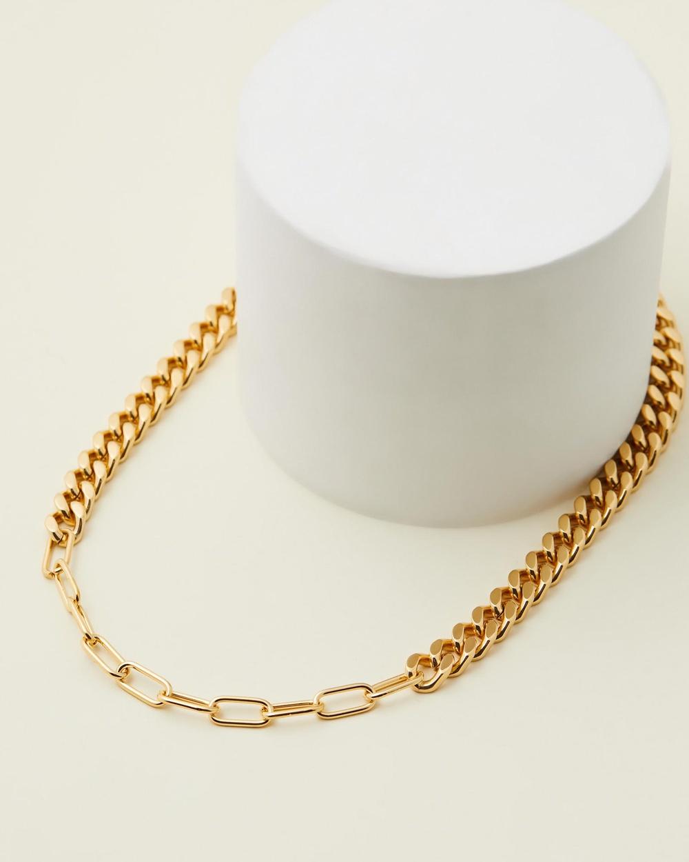 Jackie Mack Arden Choker Necklace Jewellery 18k Gold
