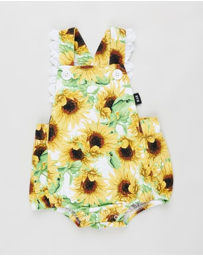 Rock Your Baby - ICONIC EXCLUSIVE - Sun Flower Romper - Babies