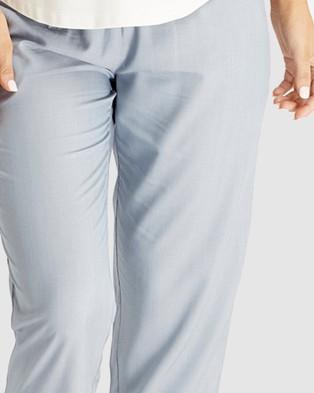 Bamboo Body Anna Woven Pants - Pants (Chambray)