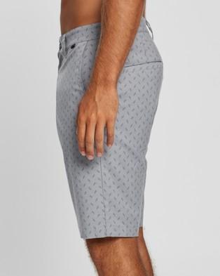 TravisMathew Flip Flop Golf Shorts - Chino Shorts (Heather Sleet)