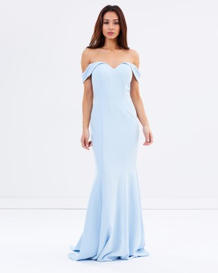 Tinaholy – When Edward Met Lily – Bridesmaid Dresses (Ice Blue)