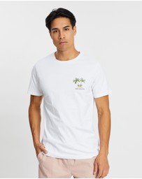 Staple Superior - Tropic Palms Embroidered Tee