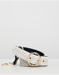 TOPSHOP - Stingray Printed Chain Belt