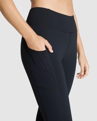 Rockwear Supplex?« Pocket Full Length Tights - Full Tights (BLACK)