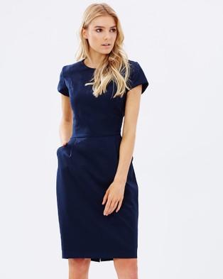 Farage – Bianca Dress Navy