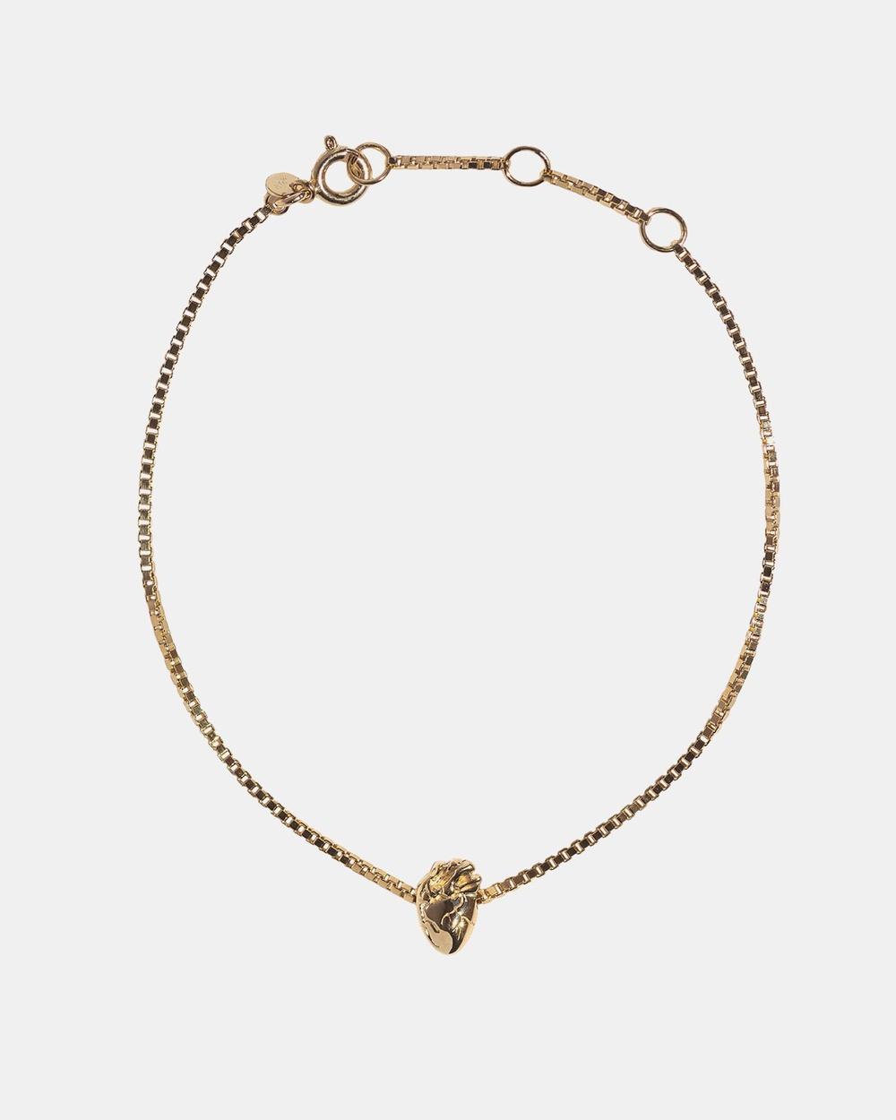 Aletheia & Phos I Carry Your Heart Bracelet Jewellery Gold