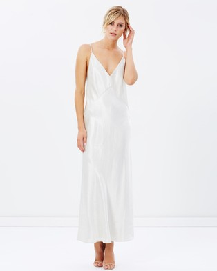 Christopher Esber – Dune Structured Cami Dress Raw Silver