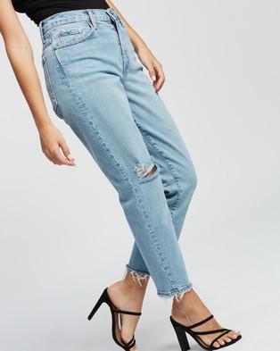 Nobody Denim Petite Petite Kennedy Jeans - High-Waisted (Ripples)