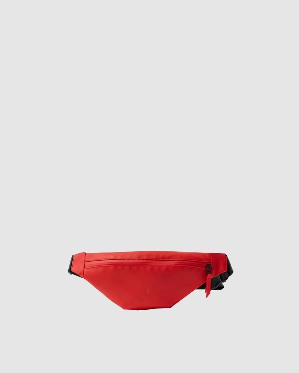 RAINS Bum Bag Mini Bags Red