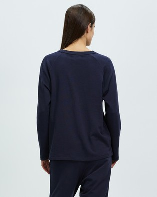 Assembly Label THE ICONIC EXCLUSIVE   Logo Lounge Top - Sleepwear (Worn Navy)