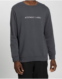 Assembly Label - Logo Fleece Pullover