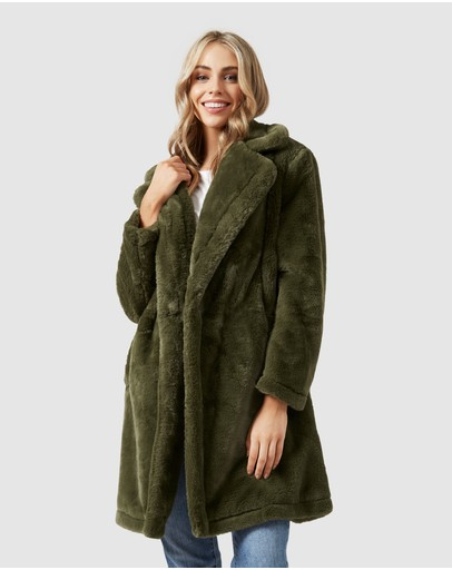 French Connection - Faux Fur Coat