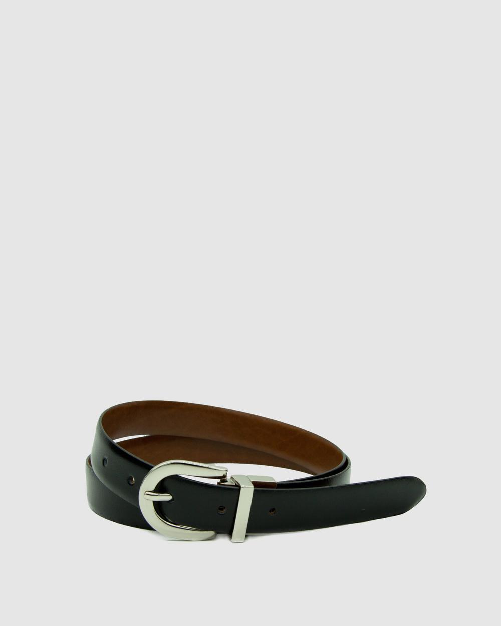 Loop Leather Co Westwood Belts Black/Tan