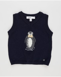 Bebe by Minihaha - Charles Penguin Vest - Babies