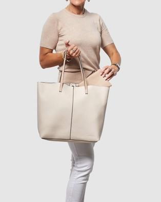 Louenhide Bowie - Handbags (Oyster)