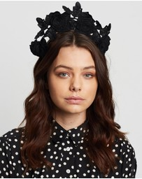 Olga Berg - Ariel Lace Halo Headband