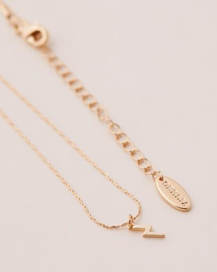 Orelia London Lightning Charm Ditsy Necklace in Giftbox - Jewellery (Pale Gold)