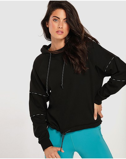 Lorna Jane Fly Girl Active Hoodie Black